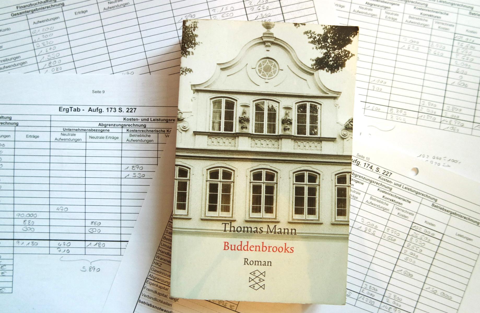 Thomas Mann Buddenbrooks Schiefgelesen
